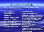 european ideology
