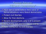 fareed zakaria illiberal democracy