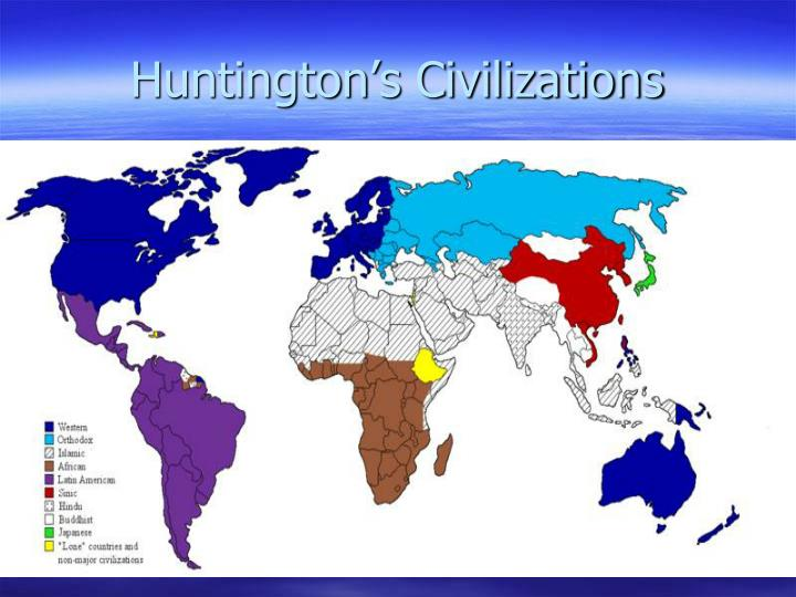 Huntington's Civilizations