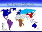 huntington s civilizations