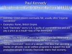 paul kennedy the rise and fall of great powers 1988