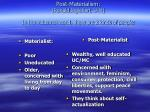 post materialism ronald inglehart u m in the industrial world there are 2 kinds of people