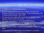 samuel huntington the third wave 1991