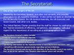 the secretariat