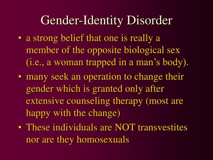 Gender-Identity Disorder