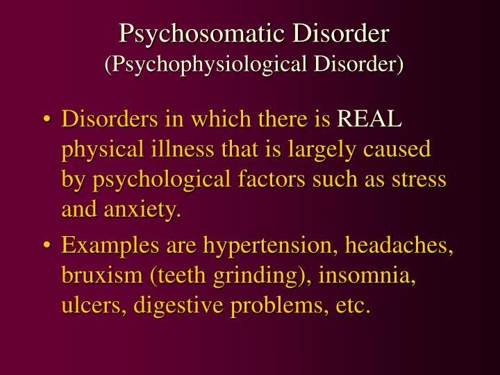 Psychosomatic Disorder