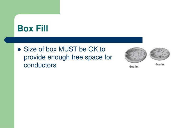 Box Fill