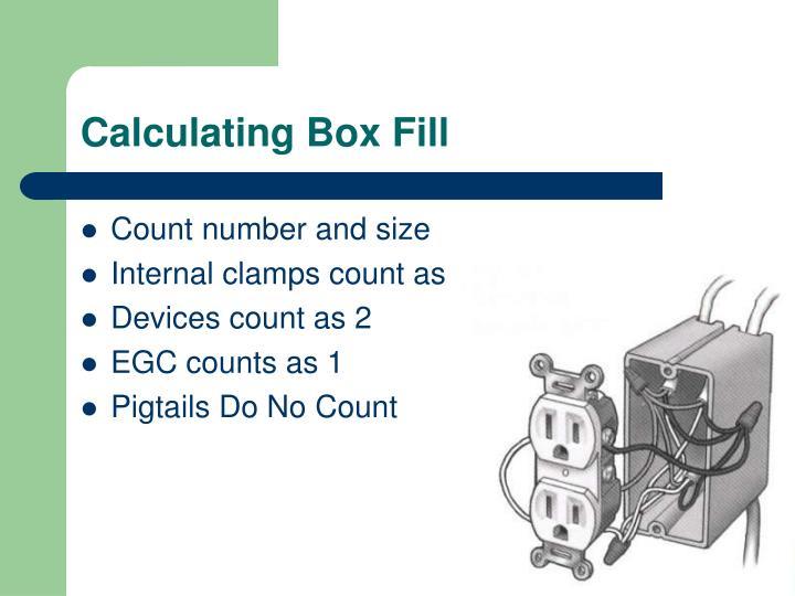 Calculating Box Fill
