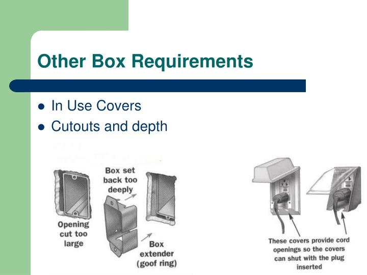 Other Box Requirements