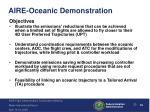 aire oceanic demonstration