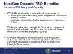 nextgen oceanic tbo benefits increased efficiency and capacity