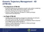 oceanic trajectory management 4d otm 4d