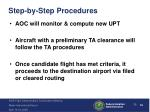step by step procedures7