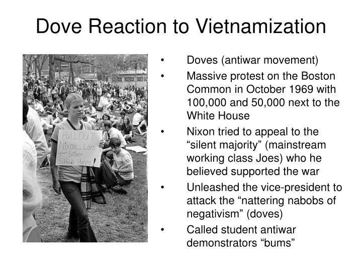 Dove Reaction to Vietnamization