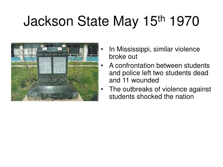 Jackson State May 15