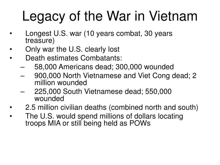 Legacy of the War in Vietnam