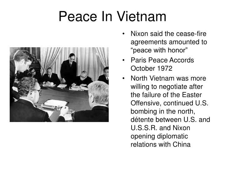 Peace In Vietnam