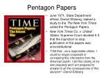 pentagon papers