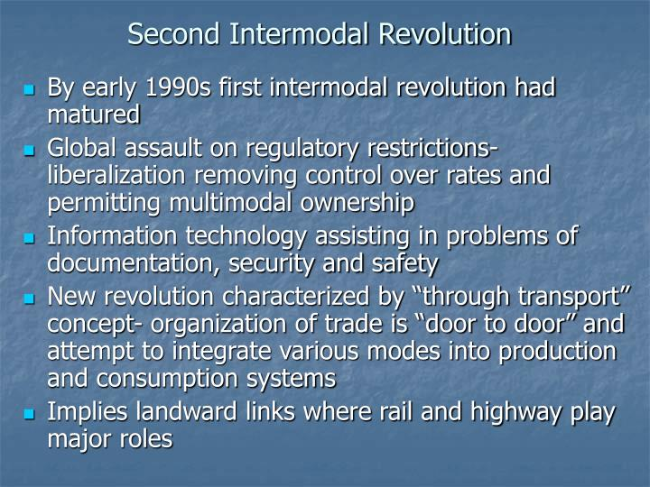 Second Intermodal Revolution
