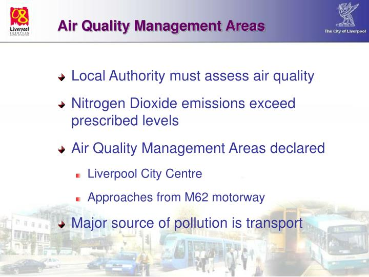 Air Quality Management Areas