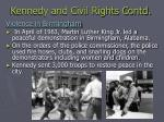kennedy and civil rights contd1
