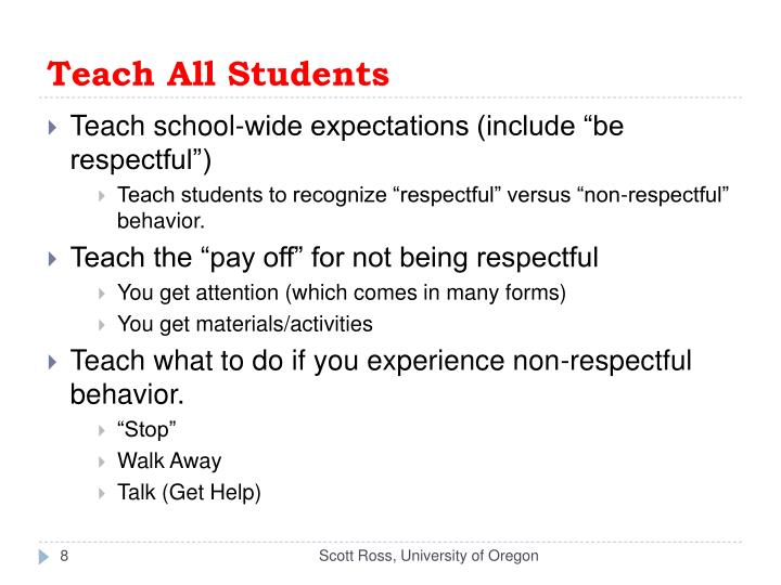 Teach All Students