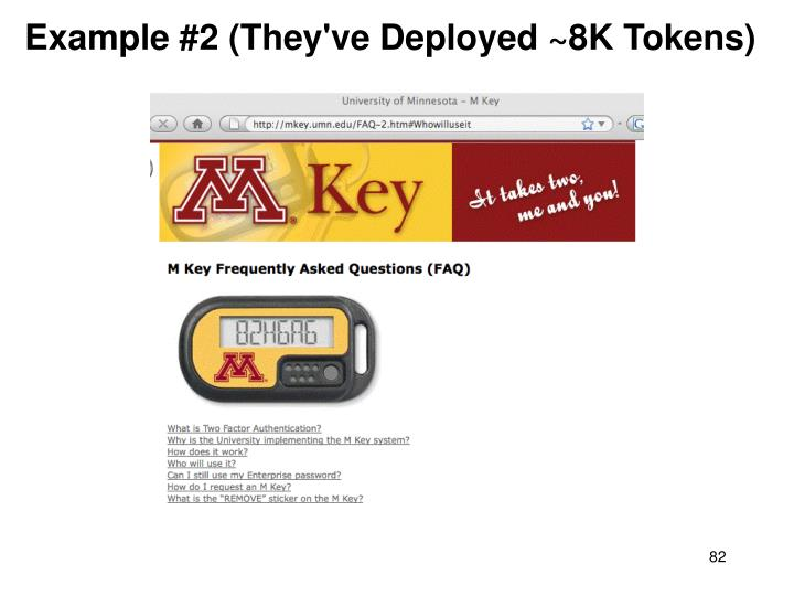 Example #2 (They've Deployed ~8K Tokens)