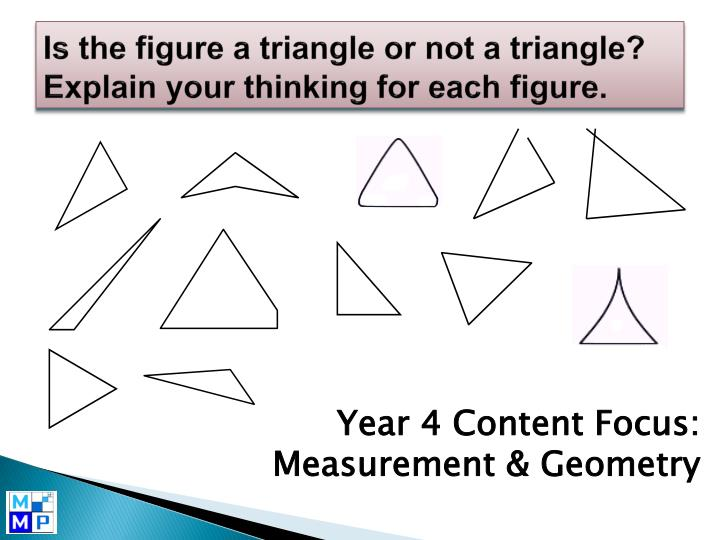 Is the figure a triangle or not a triangle?