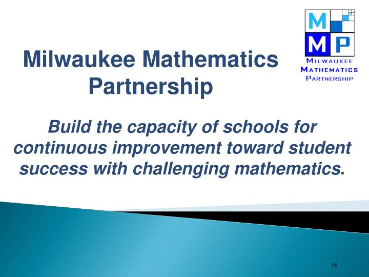 Milwaukee Mathematics