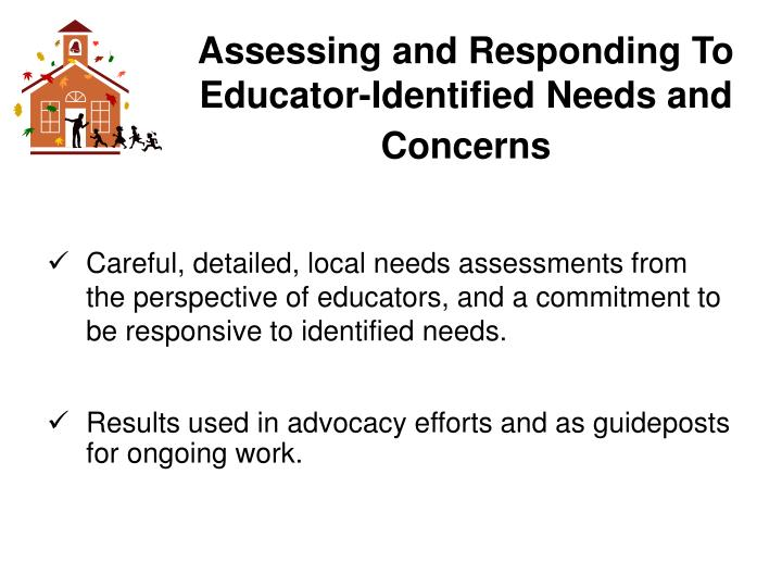 Assessing and Responding To