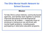 the ohio mental health network for school success