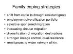 family coping strategies