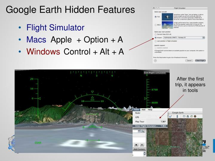 Google Earth Hidden Features