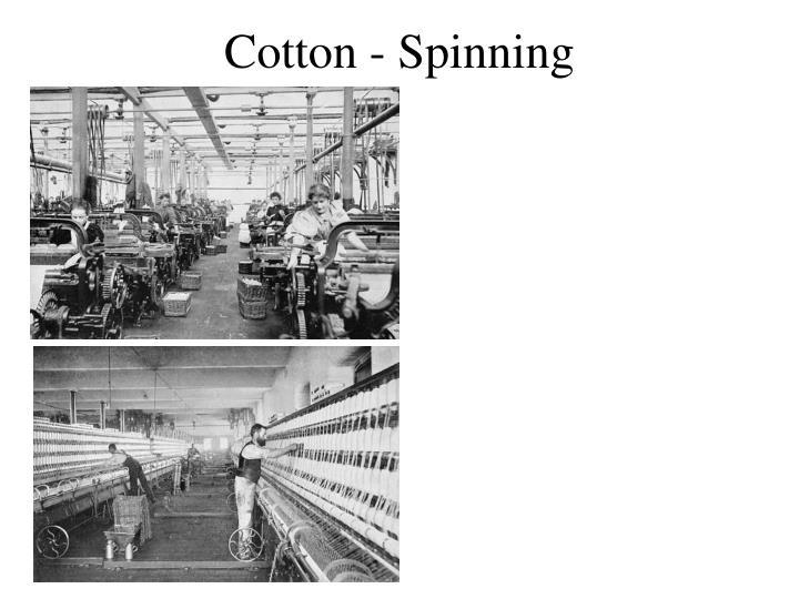 Cotton - Spinning
