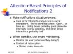 attention based principles of notifications 2