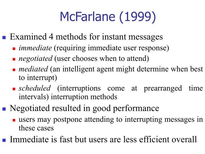 McFarlane (1999)
