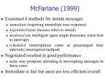 mcfarlane 1999