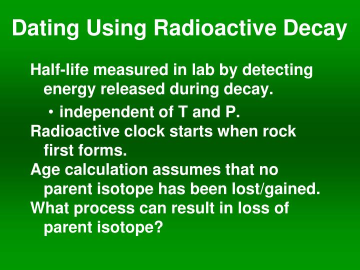 radiometric dating explained simply southern
