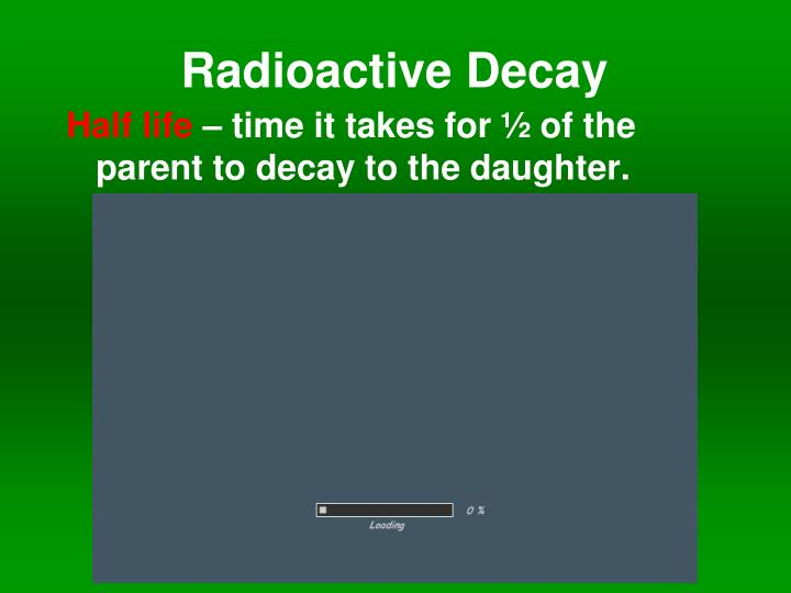 Radioactive dating in Australia