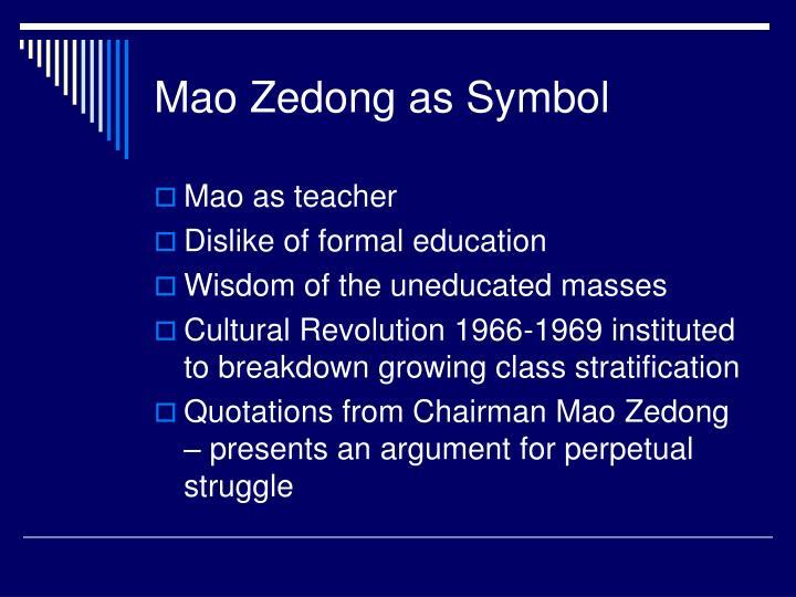 Mao Zedong as Symbol