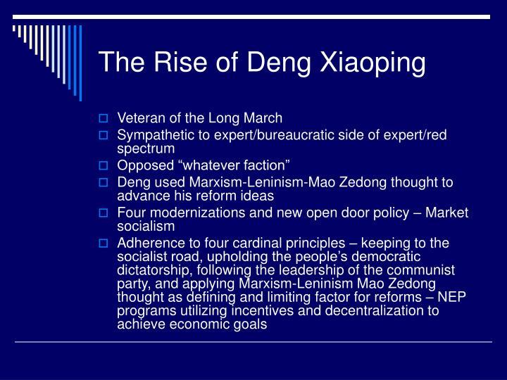 The Rise of Deng Xiaoping