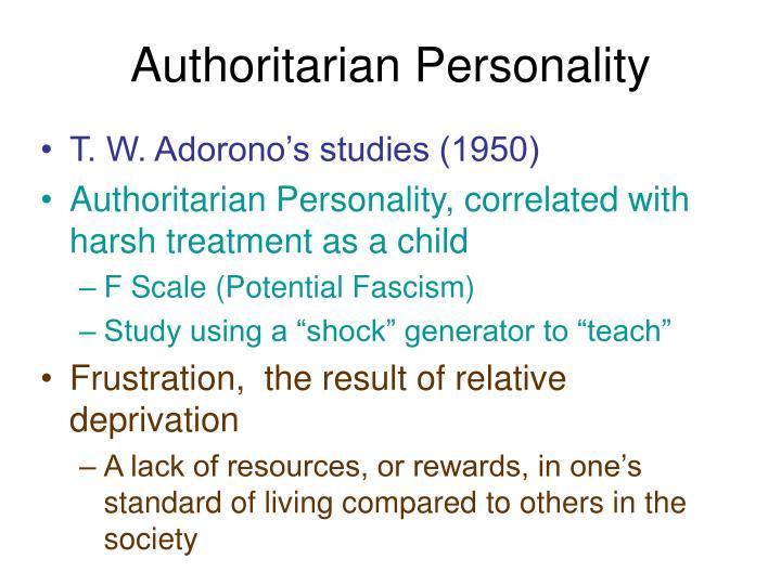 Authoritarian Personality