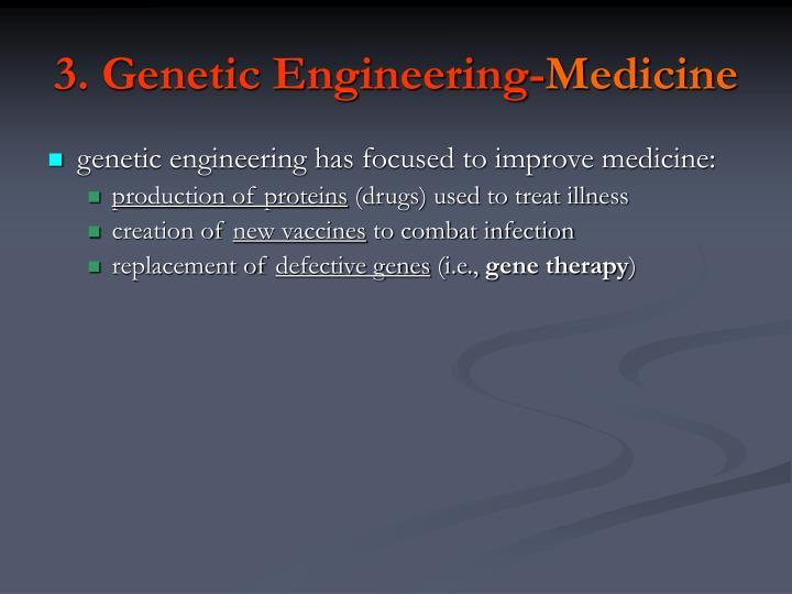 3. Genetic Engineering-