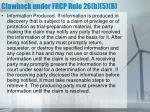 clawback under frcp rule 26 b 5 b