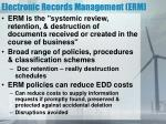 electronic records management erm