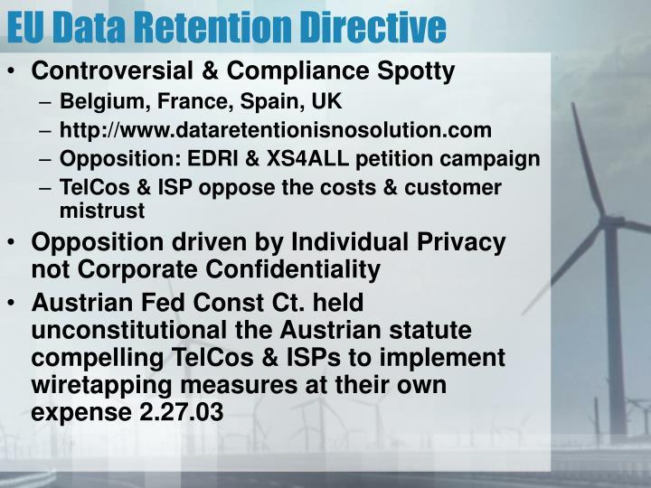 EU Data Retention Directive