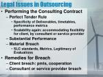 legal issues in outsourcing1