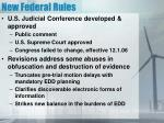 new federal rules
