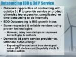 outsourcing edd 3d p service1