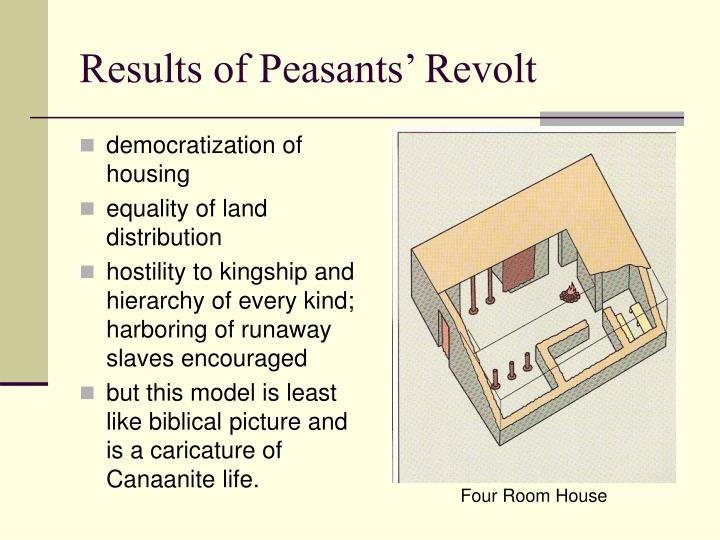 Results of Peasants' Revolt
